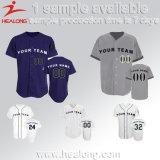 Healongの方法デザインSporstwear 100%年のポリエステル昇華男子野球ジャージー