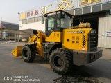 2ton 2000kg carregadora de rodas Shandong Loader para venda Sweeper Loader