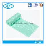Starker farbiger Plastikabfall-Abfall-Extrabeutel auf Rolle