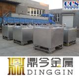 Ss304 de Container van de Opslag IBC van het Voedsel van het Roestvrij staal