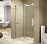 Puerta corredera de ducha de vidrio simple Pantalla de ducha