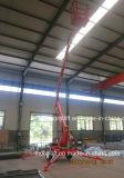 Levage hydraulique de boum de travail aérien de la CE d'alimentation par batterie