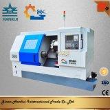 Máquina inclinada del torno del CNC de la base con el residuos de mezcla (CK40L)