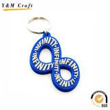 Presente de suspensão de chave de PVC macio para preenchimento de cores para cliente Ym1123