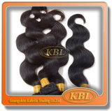 Extensão peruana do cabelo da onda do corpo da boa qualidade