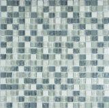 Il mosaico di vetro si è mescolato in vetro del metallo per la decorazione della parete