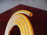 Preiswerter gelber flexibler Belüftung-Spray-Schlauch-Plastikluft-Schlauch, Öl-Rohr verwendet im Garten