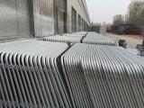 tubos externos de 35m m barrera estándar externa del control de muchedumbre de 1090m m x de 2500m m Uprignt 16m m Europa