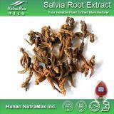Выдержка корня 100% естественная Salvia (98% Tanshinones)