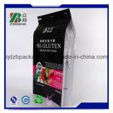 Sacchetto sigillato quadrato risigillabile dell'alimento per animali domestici dei nuovi prodotti