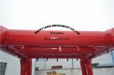 Rode Cole Verbinding die de Opblaasbare Tent van de Boog adverteren