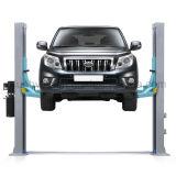 Столб подъема 2 автомобиля плиты пола подъема обслуживания столба для тележки автомобильной
