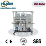 Tipo de aquecimento de vácuo móvel Máquina de purificação de óleo de engrenagem usada