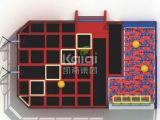 Kaiqi подгоняло Trampolines совместило по-разному деятельности (KQ60154A-B)