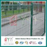 Загородка ячеистой сети Brc Rolltop загородки сетки PVC Coated Brc