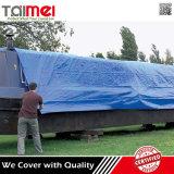 PE van het Merk van Tarpmax Geteerde zeildoek het Van uitstekende kwaliteit voor de Dekking van de Vrachtwagen