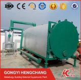 Le four rotatoire de carbonisation de flux d'air de cosse de riz