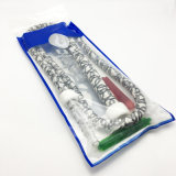 Acrylique blanc 1,8 m narguilé Shisha Tubes avec embout de flexible (ES-HH-004-3)