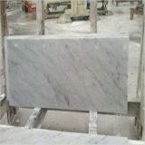 中国の建築材料の自然な石造りの白いカラーラの大理石
