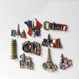 記念品のギフトとして別の整形アメリカ人3Dの樹脂冷却装置磁石