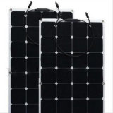 modulo solare semi flessibile /Panel di Sunpower di alta efficienza di 100W 50W 18V 12V