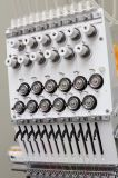 Única máquina principal computarizada do bordado para o tampão Flat/T-Shirt/bordado do vestuário