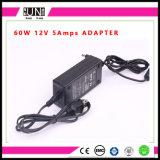 12V 5A 60W、DC24V 60WのLEDの充電器、一定した電圧LED電源、LEDのストリップ力60Wのアダプター、60Wアダプター