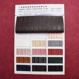 浮彫りにされた織り方ラインArtificail PUの革総合的なハンドバッグ袋の革