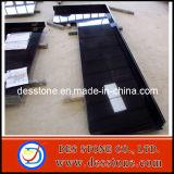 Encimera Polished negra absoluta de la vanidad de la cocina del granito de la alta calidad (DES-C017)