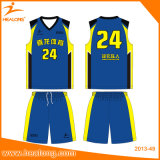 Basket-ball Jersey de vente en gros de configuration estampé par Digital de Healong