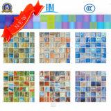 Mosaico tamaño pequeño del vidrio del espesor 4m m/mosaico coloreado/de la natación Pool/TV de la pared del vidrio