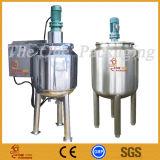 Tanque de mistura de creme líquido do misturador do aço inoxidável da pasta da viscosidade elevada
