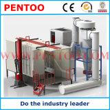 Cabine de revestimento em pó de alto desempenho com pulverização automática