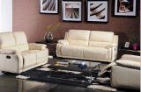 Белые комната Color Living и спальня Combination Sofa