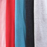 90144 de wafel breit de Katoenen van de Rib duidelijk-Kleurstof van Spandex