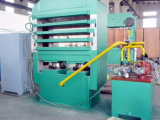 Platten-Vulkanisator-Maschine für Gummifliese