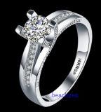 Кольца горячего Zirconia Jewelry- надувательства кубического латунные (R0822)