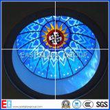 Stained Glass (vidrio decorativo) con el certificado del CE (EGST011)