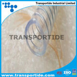 Mangueira reforçada espiral flexível do fio de aço do PVC de Agricutural