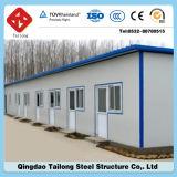 Stahlrahmen-Zwischenlage-Panel-Fertighaus/modulares/bewegliches/fabrizierten Haus vor