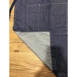 Avental personalizado da empregada de mesa do denim azul para oficina