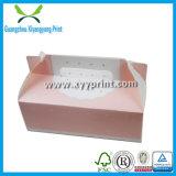 Cadre de empaquetage d'emballage de gâteau blanc fait sur commande de papier