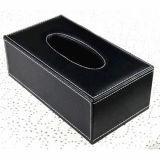 목제 가죽 조직 상자 얼굴 서류상 조직 상자 차 조직 주석 상자 (Hx06)