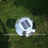 옥외 정원 LED 태양 지상 램프 빛