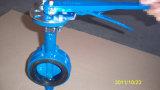 Hebel-Handstellzylinder-Keil-Drosselventil