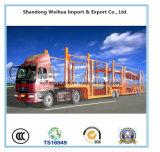Fabricant chinois Semi-remorque porte-voitures lourde