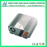 12V/24V à l'inverseur solaire pur de C.C d'onde sinusoïdale de 220V/230V/240V 300W (QW-P300)