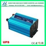 Conversor puro da onda de seno do UPS 1000W com o carregador 15A (QW-P1000UPS)