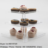 Coupe en acrylique de qualité alimentaire gâteaux afficher
