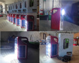 가정과 옥외를 위한 LED 태양 야영 손전등